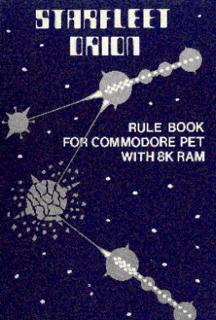 <i>Starfleet Orion</i> 1978 video game
