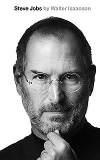 <i>Steve Jobs</i> (book) 2011 authorized biography by Walter Isaacson