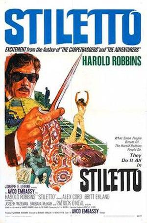 Stiletto (1969 film) - 1969 theatrical poster