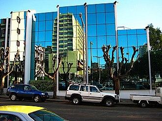 Telecomunicações de Moçambique - TDM's corporate headquarters in Maputo