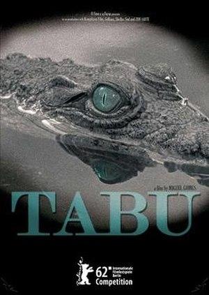 Tabu (2012 film) - Film poster