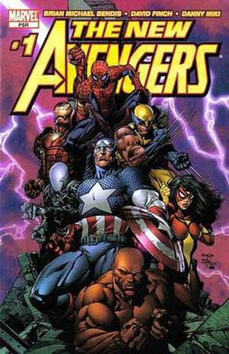 The New Avengers (comics) - Image: The New Avengers 1