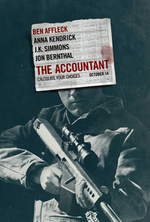<i>The Accountant</i> (2016 film) 2016 American drama thriller film directed by Gavin OConnor