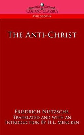 The Antichrist (book) - Image: The Antichrist (book)