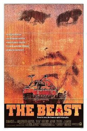 The Beast (1988 film) - Theatrical release poster