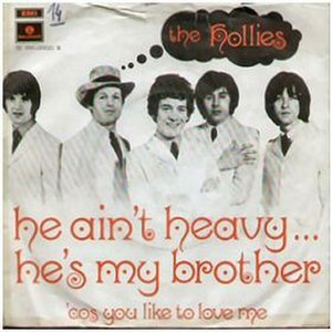 He Ain't Heavy, He's My Brother - Image: The Hollies He Ain't Heavy, He's My Brother