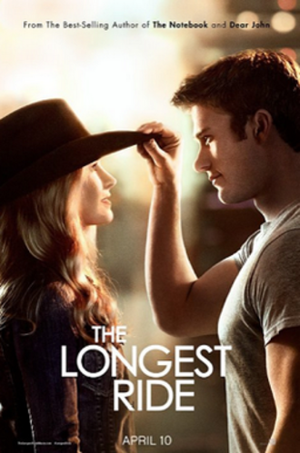 The Longest Ride (film) - Theatrical release poster