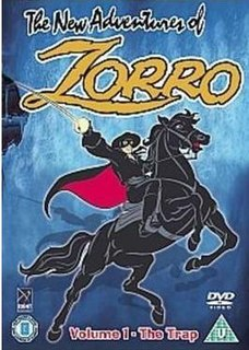 <i>The New Adventures of Zorro</i> (1981 TV series) American animated television series