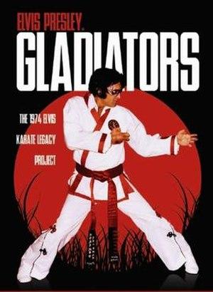 The New Gladiators (film) - Elvis Presley's The New Gladiators poster.