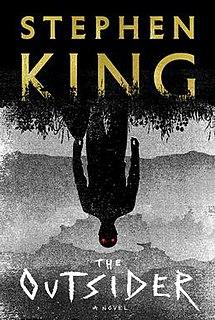 <i>The Outsider</i> (King novel) 2018 horror novel by Stephen King