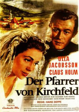 The Priest from Kirchfeld (1955 film) - Image: The Priest from Kirchfeld (1955 film)