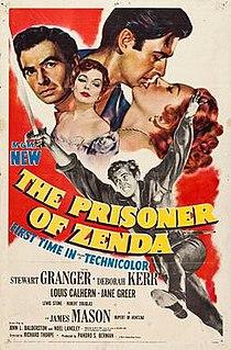 <i>The Prisoner of Zenda</i> (1952 film) 1952 film by Richard Thorpe