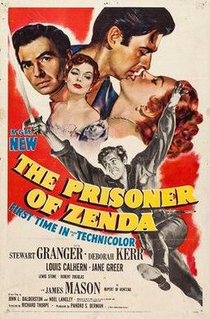 The Prisoner of Zenda (1952 film) - Theatrical release poster