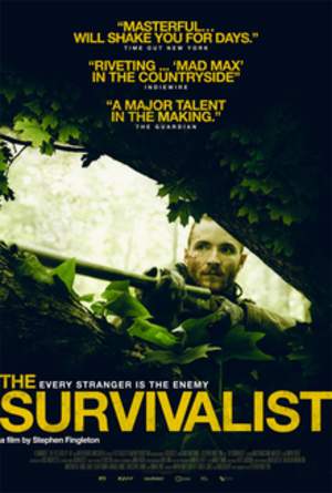 The Survivalist (film) - Theatrical release poster