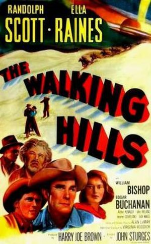 The Walking Hills - Image: The Walking Hills Film Poster