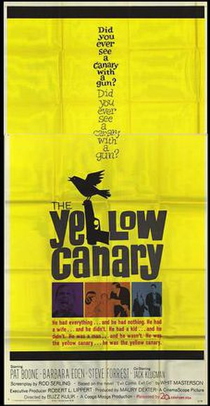The Yellow Canary - Theatrical release poster
