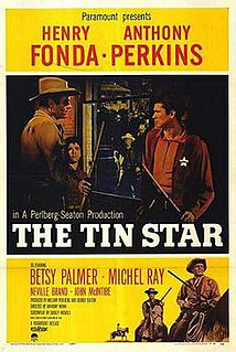<i>The Tin Star</i> 1957 film by Anthony Mann