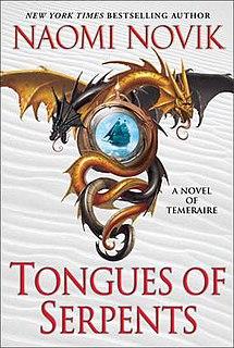 <i>Tongues of Serpents</i> novel by Naomi Novik