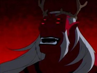 Trigon (comics) - Trigon as seen in the Teen Titans animated series.
