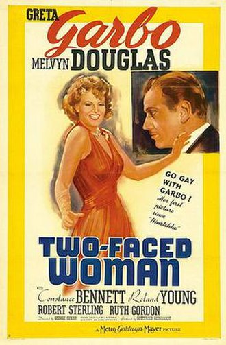 Two-Faced Woman - Original film poster