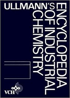 <i>Ullmanns Encyclopedia of Industrial Chemistry</i> book