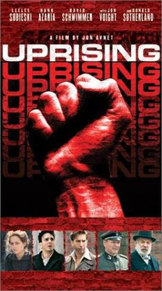 Uprising (2001 film) - DVD cover