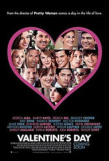 <i>Valentines Day</i> (2010 film) 2010 romantic comedy film directed by Garry Marshall