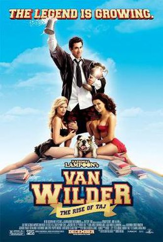 Van Wilder: The Rise of Taj - Theatrical release poster