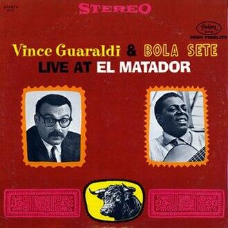 Live at El Matador - Image: Vince Guaraldi & Bola Sete Live at El Matador