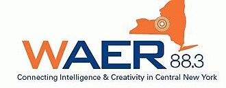 WAER - Image: WAER 88.3 (logo)