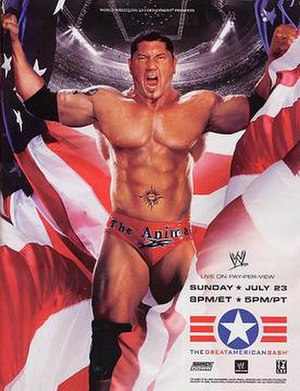 The Great American Bash (2006) - Promotional poster featuring Batista
