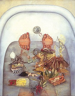 <i>What the Water Gave Me</i> (painting) Painting by Frida Kahlo