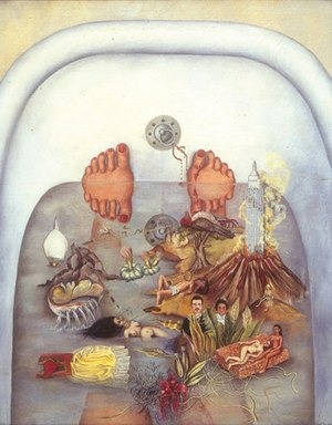 What the Water Gave Me by Frida Kahlo.jpg