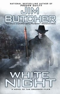 <i>White Night (The Dresden Files)</i> book by Jim Butcher