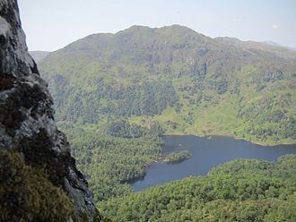 Trossachs - The forested area at the eastern end of Loch Katrine