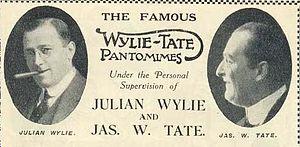 James W. Tate - 1916 publicity piece