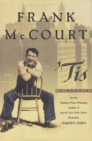 'Tis - Image: 'Tis (Frank Mc Court) coverart