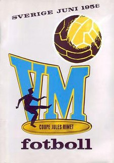 1958 FIFA World Cup 1958 edition of the FIFA World Cup