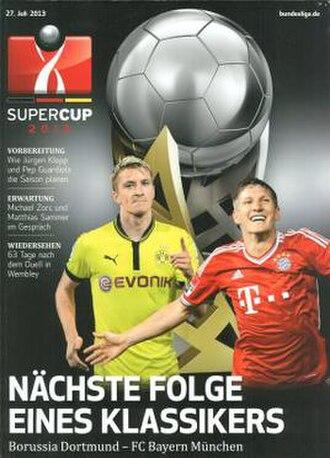 2013 DFL-Supercup - Image: 2013 DFL Supercup programme