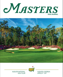 2019 Masters Tournament Golf tournament held in 2019