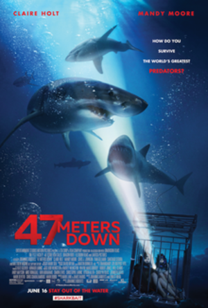 47 Meters Down - Theatrical release poster