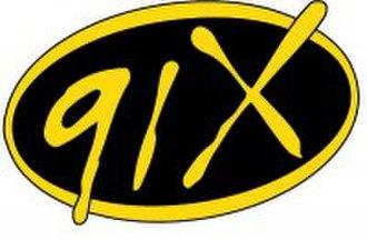 XETRA-FM - Image: 91X logo (low res)