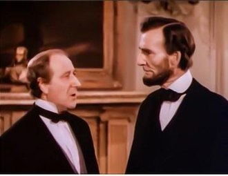 Lincoln in the White House - Frank McGlynn Sr. (right) as Lincoln in the 1939 short