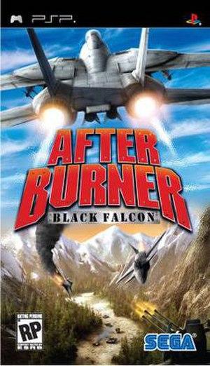 After Burner: Black Falcon - Image: After Burner PSP Box