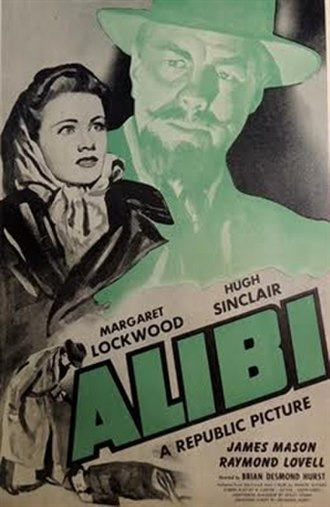 Alibi (1942 film) - U.S. poster