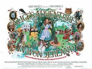 Alice's Adventures in Wonderland (1972 film) - Theatrical release poster