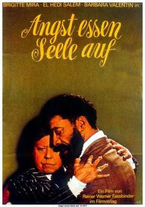 Ali: Fear Eats the Soul - German theatrical release poster