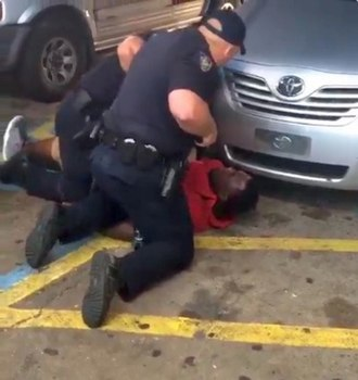 Shooting of Alton Sterling - Image: Alton Sterling just before being shot