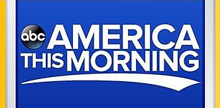 <i>America This Morning</i> US television program