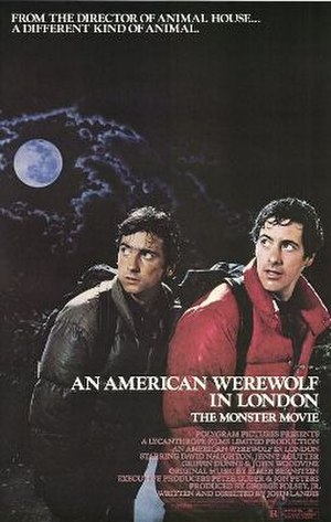 An American Werewolf in London - Theatrical release poster